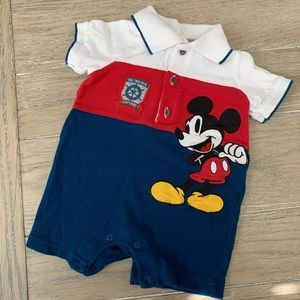 Baby boy Mickey polo outfit